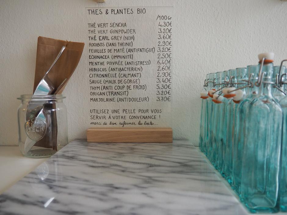 La Grainerie, épicerie au poids café vegan - Hotpopote