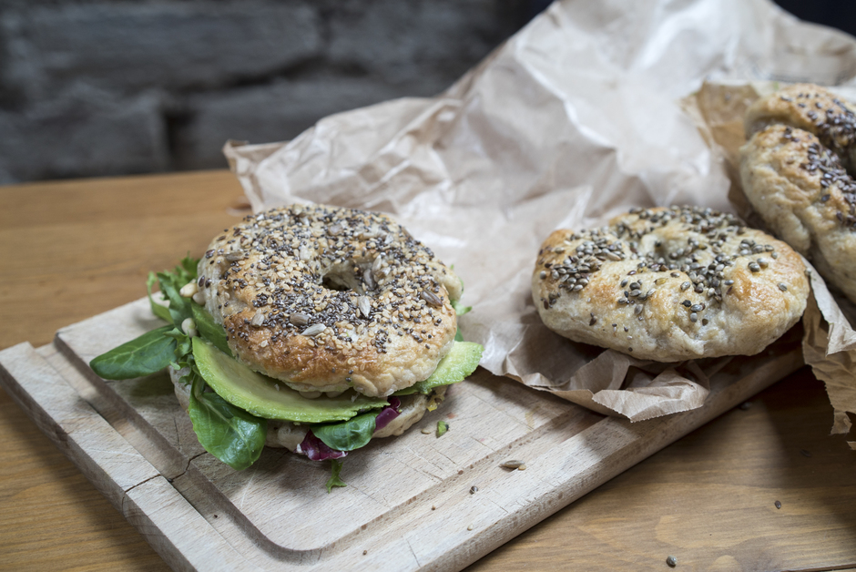 Recette Bagel facile fait maison home made HOTPOPOTE