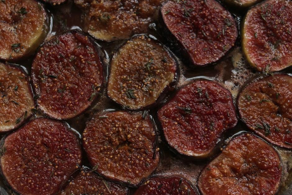 Recette tarte sablée figue thym hotpopote