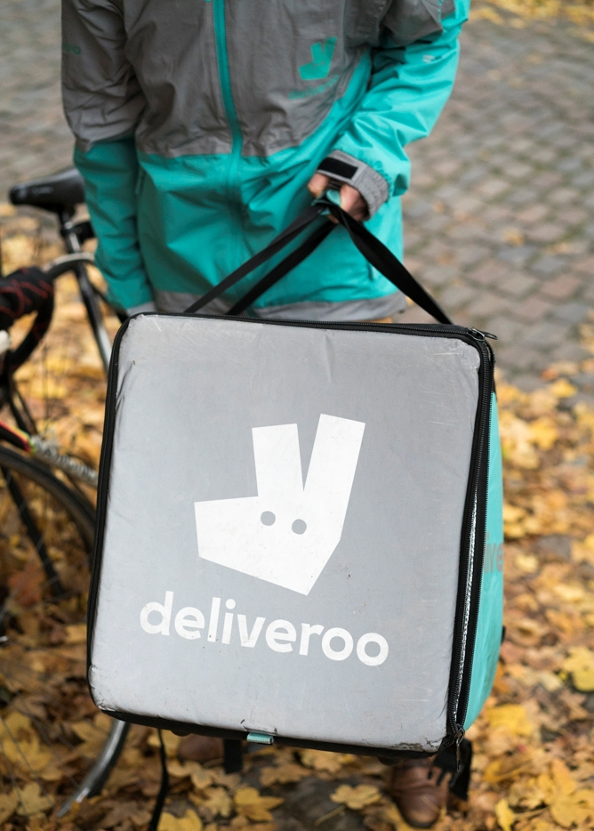 Deliveroo Bruxelles brussels biker - HOTPOPOTE