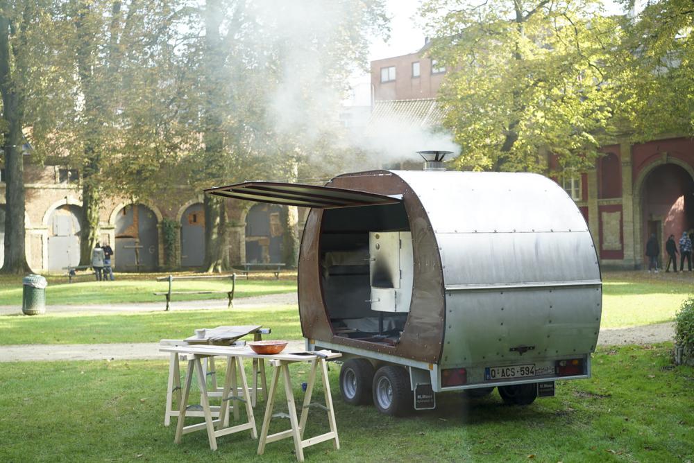 Le four à bois la caravane passe boulangerie patisserie Bruxelles Hotpopote