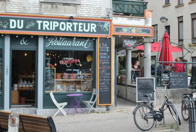 HOTPOPOTE - Relais du triporteur lunch bruxelles vrac zéro déchet